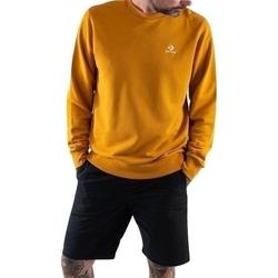 tekstylia Męskie Bluzy dresowe Converse Emb Crew Ft Pomarańczowy