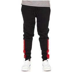 tekstylia Męskie Spodnie dresowe Converse All Star Jogger Czarny