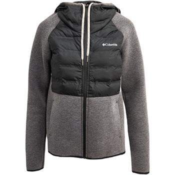 tekstylia Damskie Bluzy Columbia Northern Comfort Czarny