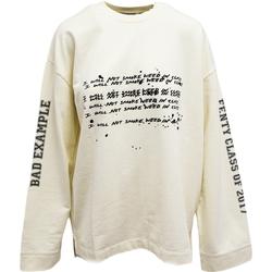 tekstylia Damskie Bluzy dresowe Puma Fenty by Rihanna Beżowy