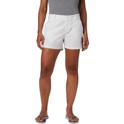 tekstylia Damskie Szorty i Bermudy Columbia Bonehead Stretch Biały