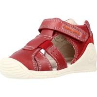 Buty Chłopiec Sandały Biomecanics 212134 Czerwony
