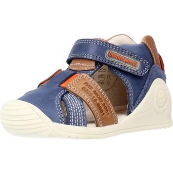 Buty Chłopiec Sandały Biomecanics 212135 Niebieski