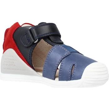 Buty Chłopiec Sandały Biomecanics 212136 Niebieski