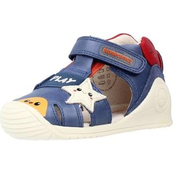 Buty Chłopiec Sandały Biomecanics 212140 Niebieski
