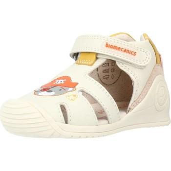 Buty Chłopiec Sandały Biomecanics 212141 Beżowy