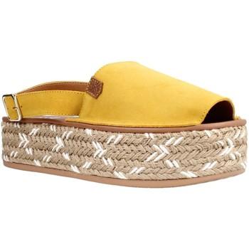 Buty Damskie Sandały Menorquinas Popa PS12603 Żółty