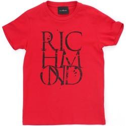 tekstylia Chłopiec T-shirty z krótkim rękawem Richmond Kids RBP21038TS Czerwony