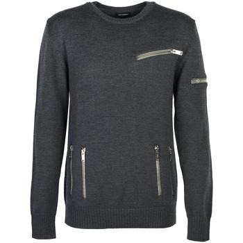 tekstylia Męskie Swetry Les Hommes  Szary