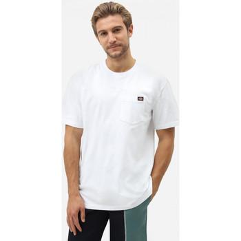 tekstylia Męskie T-shirty z krótkim rękawem Dickies Porterdale tshirt mens Biały