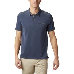 tekstylia Męskie Koszulki polo z krótkim rękawem Columbia Nelson Point Polo Niebieski