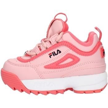 Buty Dziewczynka Trampki niskie Fila 1010826 Różowy