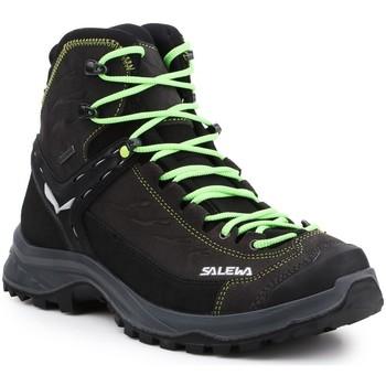 Buty Męskie Trekking Salewa Buty trekkingowe  MS Hike Trainer Mid GTX 61336-0972 czarny