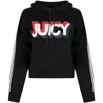 tekstylia Damskie Bluzy Juicy Couture  Czarny
