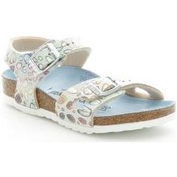 Buty Dziewczynka Sandały Birkenstock 731893 Niebieski