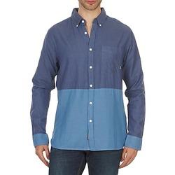tekstylia Męskie Koszule z długim rękawem Element BRENTWOOD Niebieski