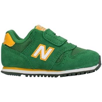 Buty Chłopiec Trampki niskie New Balance IV373SGW Zielony