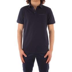 tekstylia Męskie Koszulki polo z krótkim rękawem Trussardi 52T00488 1T003603 Niebieski