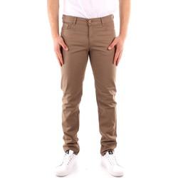 tekstylia Męskie Spodnie z pięcioma kieszeniami Trussardi 52J00007 1Y000163 Beżowy