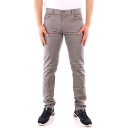 tekstylia Męskie Spodnie z pięcioma kieszeniami Trussardi 52J00007 1Y000168 Szary