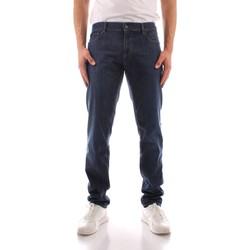 tekstylia Męskie Jeansy straight leg Trussardi 52J00000 1Y000149 Niebieski