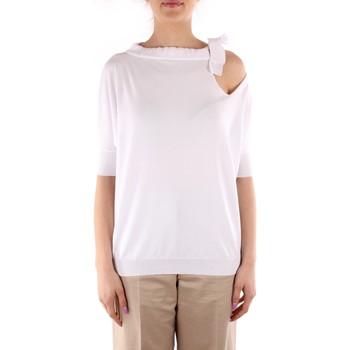 tekstylia Damskie Swetry Friendly Sweater C210-653 Biały