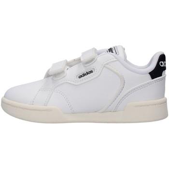 Torby Chłopiec Trampki niskie adidas Originals FY9284 Biały