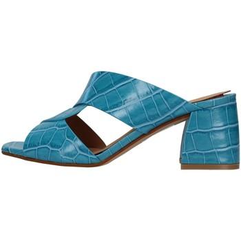 Buty Damskie Klapki Melluso N705 Niebieski