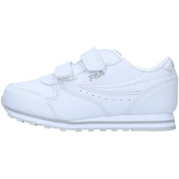 Buty Dziewczynka Trampki niskie Fila 1011080 Biały