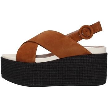 Buty Damskie Sandały Tres Jolie 2801/MONY Brązowy