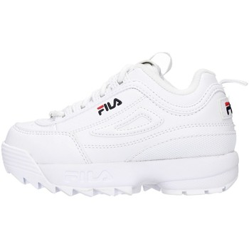 Buty Dziewczynka Trampki niskie Fila 1010826 Biały