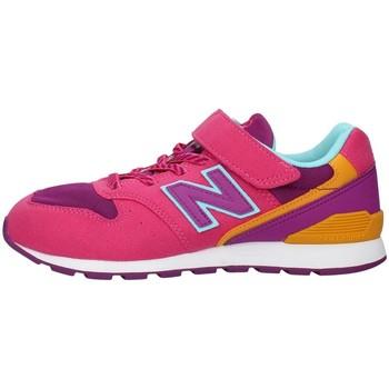 Buty Dziewczynka Trampki niskie New Balance YV996TMG Różowy