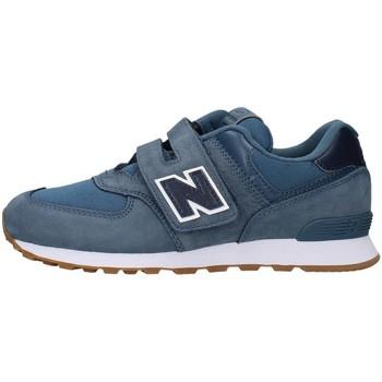 Buty Chłopiec Trampki niskie New Balance YV574PRN Niebieski
