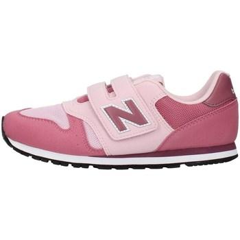 Buty Dziewczynka Trampki niskie New Balance YV373KP Różowy