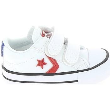 Buty Dziecko Trampki niskie Converse Star Player 2V BB Blanc Rouge Biały