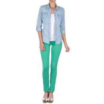tekstylia Damskie Spodnie z pięcioma kieszeniami Cimarron CASSIS Zielony