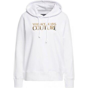 tekstylia Damskie Bluzy Versace B6HVA70E Biały