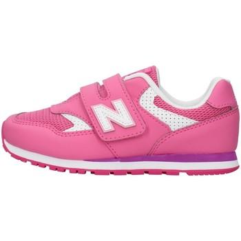 Buty Dziewczynka Trampki niskie New Balance YV393BPK Różowy