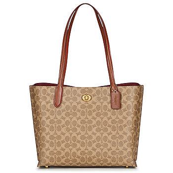 Torby Damskie Torby shopper Coach WILLOW TOTE Cognac