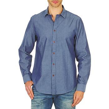 tekstylia Męskie Koszule z długim rękawem Ben Sherman BEMA00490 Niebieski