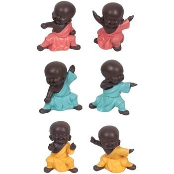 Dom Statuetki i figurki  Signes Grimalt Podziemny 6 Dif Buddów. Multicolor