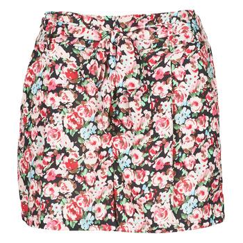 tekstylia Damskie Szorty i Bermudy Betty London OULALA Czarny / Różowy