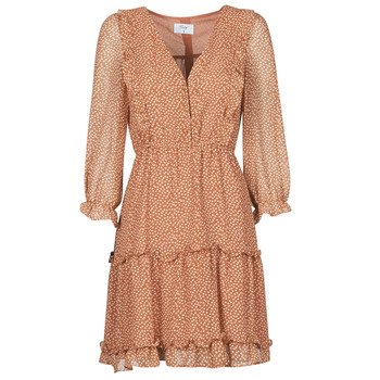 tekstylia Damskie Sukienki krótkie Betty London OBELLA Rouille