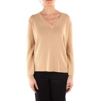 tekstylia Damskie Swetry Friendly Sweater C210-659 Beżowy