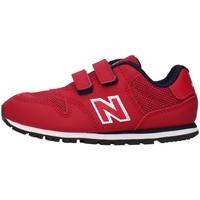 Buty Chłopiec Trampki niskie New Balance IV500RR Czerwony