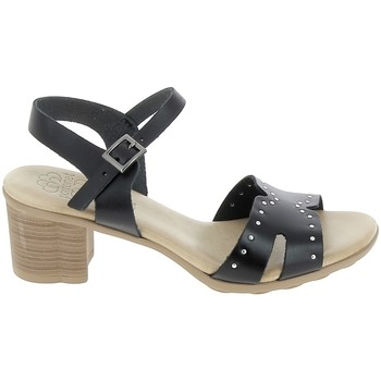 Buty Damskie Sandały Porronet Sandale F12626 Noir Czarny