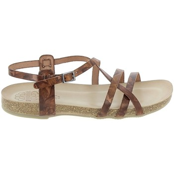 Buty Damskie Sandały Porronet Sandale F12615 Marron Brązowy