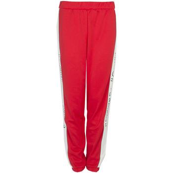 tekstylia Damskie Spodnie dresowe Juicy Couture  Czerwony
