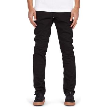 tekstylia Męskie Jeansy DC Shoes Worker Slim Fit Czarny