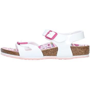 Buty Dziewczynka Sandały Birkenstock 1018864 Biały